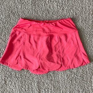 Fila pink athletic skort petal XS